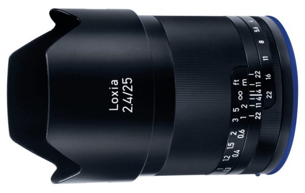 Zeiss Loxia 25mm T2.4 lens