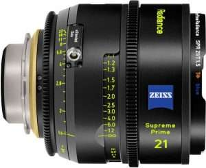 Zeiss Supreme Prime Radiance 21mm