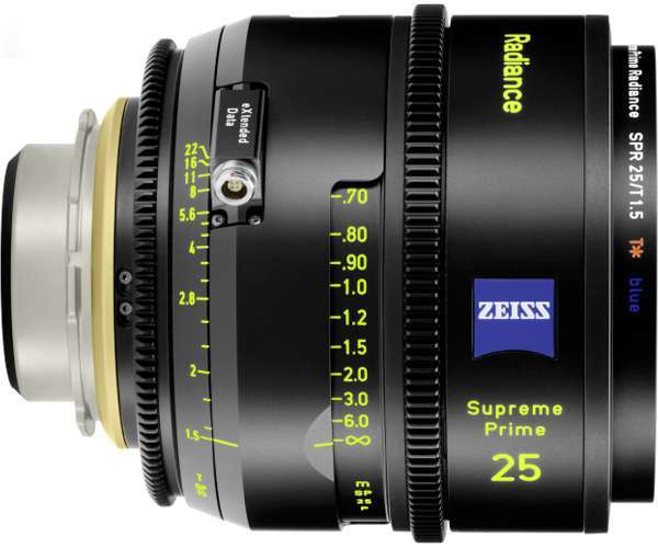 Zeiss Supreme Prime Radiance 25mm
