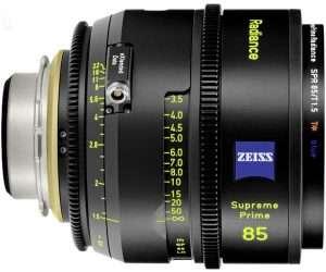 Zeiss Supreme Prime Radiance 85mm