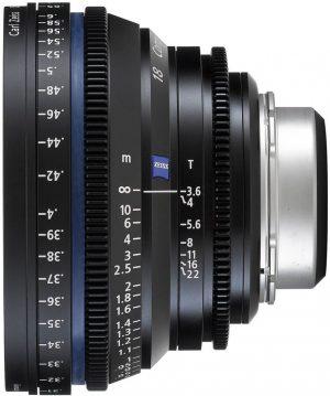 Zeiss CP.2 T2.1 18mm lens