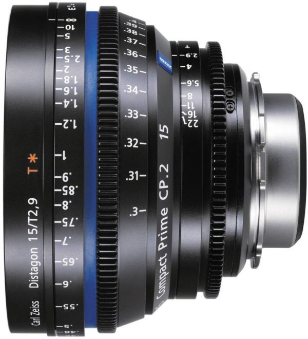 Zeiss CP.2 T2.1 15mm lens
