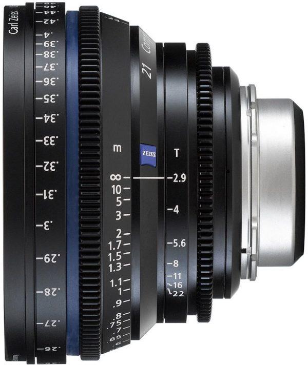 Zeiss CP.2 T2.1 21mm lens