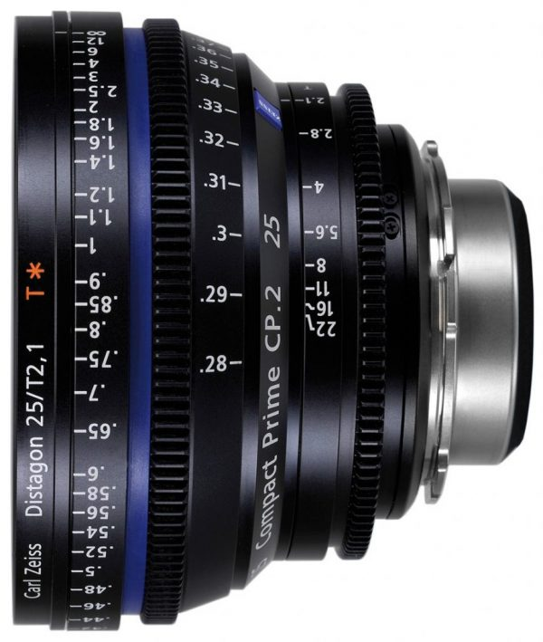 Zeiss Compact Prime CP2 25mm