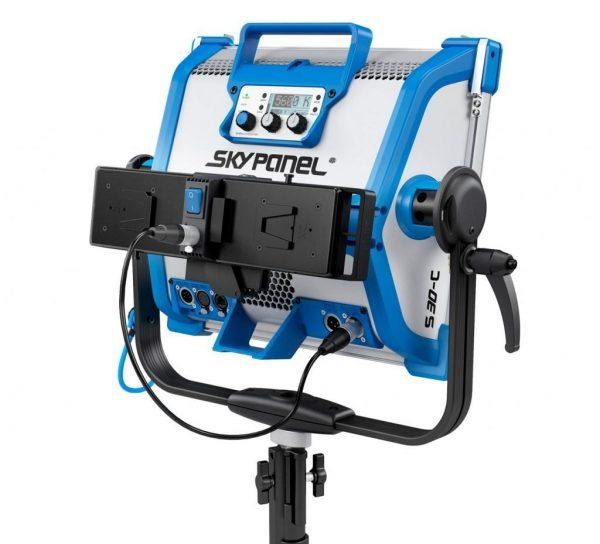V-Mount battery adapter plate for Arri Skypanel