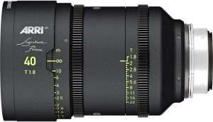 alquiler arri signature prime 40mm