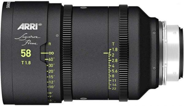 arri signature prime 58mm