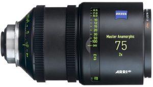 Arri Master Anamorphic 75 lens