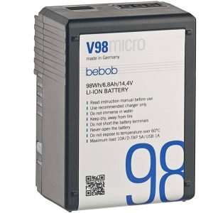 Bebob V98 Micro battery