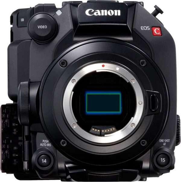 Canon C300 MKIII camera sensor