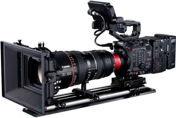 Canon C300 MKIII camera and zoom