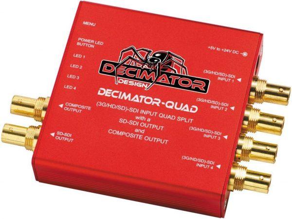 Multiviewer Decimator Quad