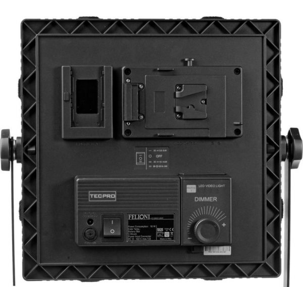 Panel LED Dedolight Felloni/Tecpro 1'x1' Bicolor