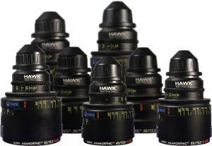 Objetivos anamórficos Hawk V-Series