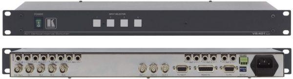 Selector video Kramer VS-401XLM VBS-RCA