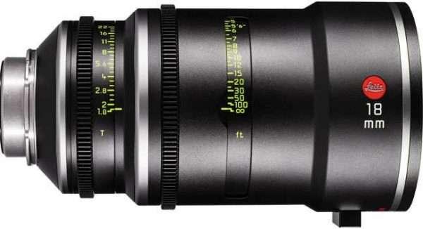 Objetivo Leitz Prime T1.8 18mm