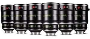 Leitz Prime T1.8 6 lenses set