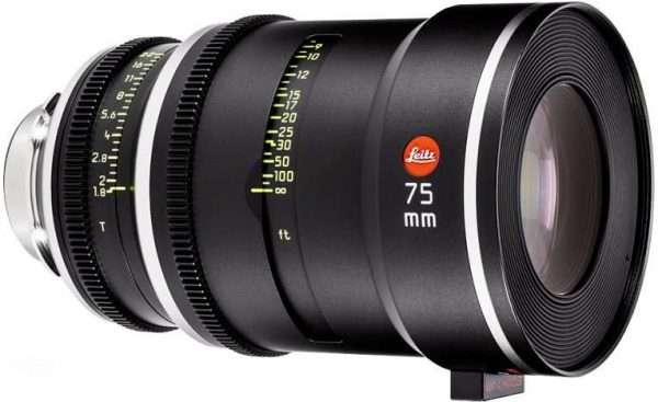 Leitz Prime T1.8 75mm lens