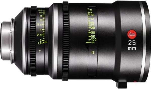 Objetivo Leitz Prime T1.8 25mm