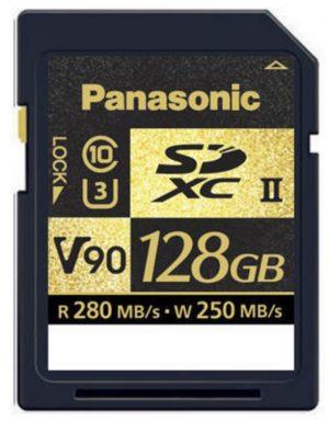 Tarjeta Panasonic SDXC 128GB V90