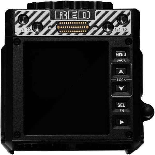 Red Komodo menu LCD camera