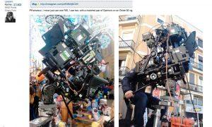 Se nos va de las manos: Rodando las fallas en 3D y 8K