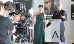 Rodaje de un spot para los Premios Goya