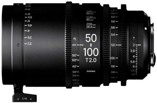 Objetivo Sigma 50-100mm T2