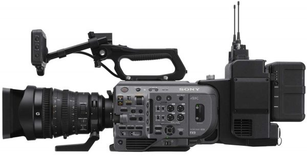 Sony XDCA-FX9 attached