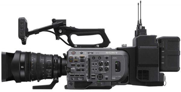 Sony XDCA-FX9 montado en FX9