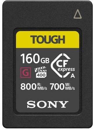 sony tough 160GB cfexpress A