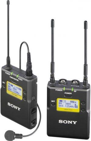 Sony UWP D11 wireless microphone complete set