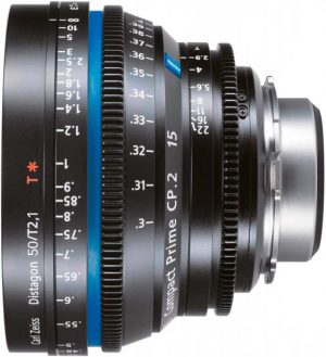 Zeiss Compact Prime CP2 50mm
