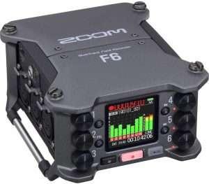 Zoom F6 mixer recorder